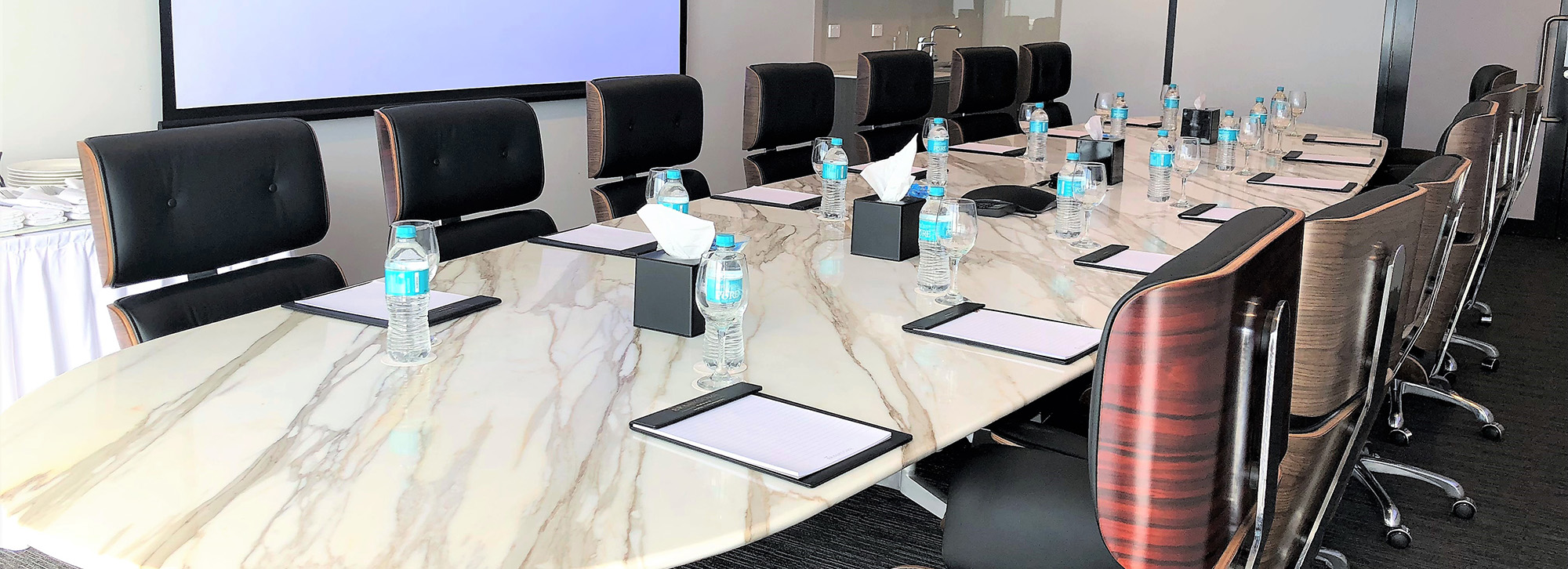 Board Room configuration for up to 14
