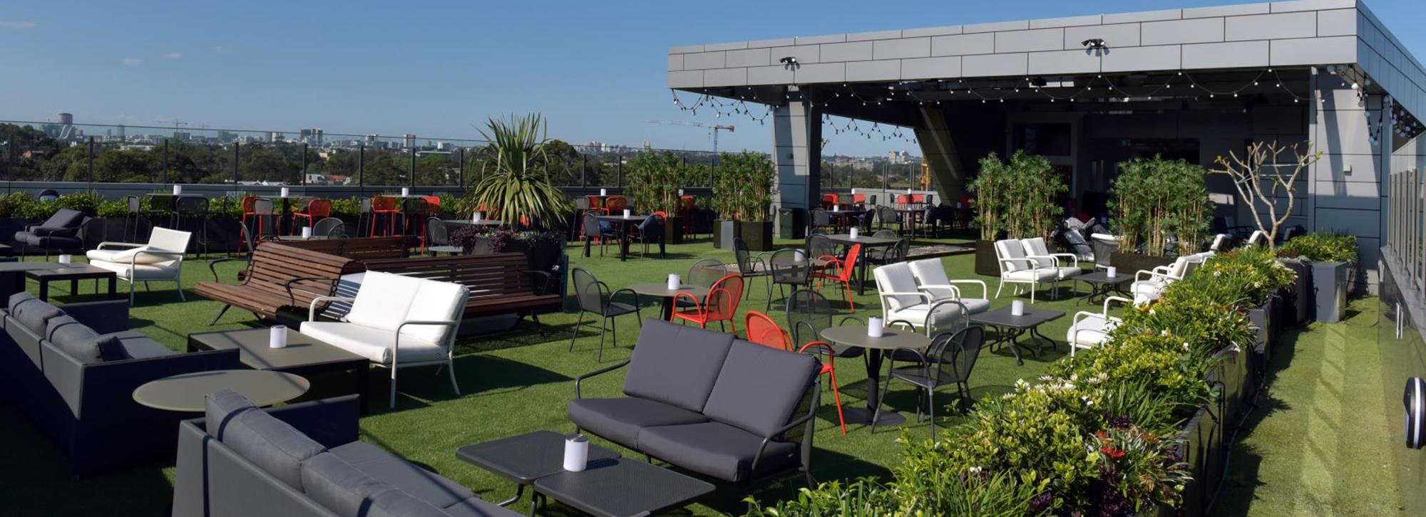 Rooftop Garden and Bar