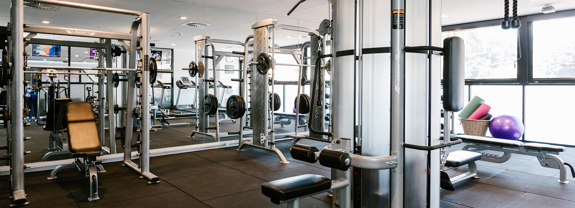 Comprehensive Gym Equipment