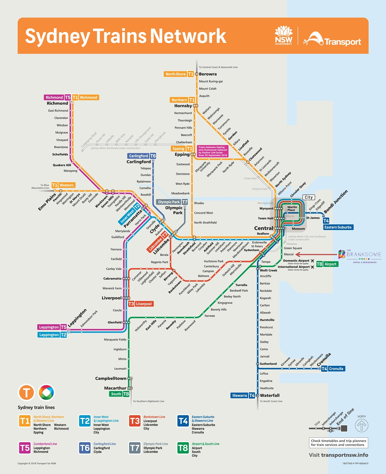 Sydney Train Network